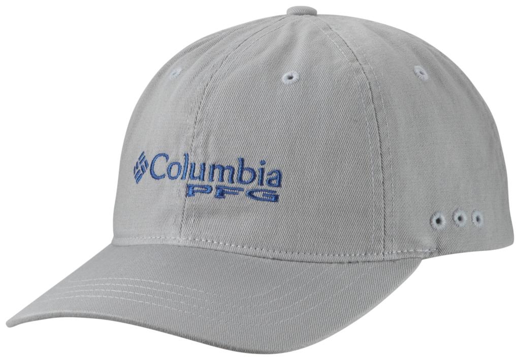 Columbia Pfg Bonehead Ballcap Cool Grey, Vivid Blue-30