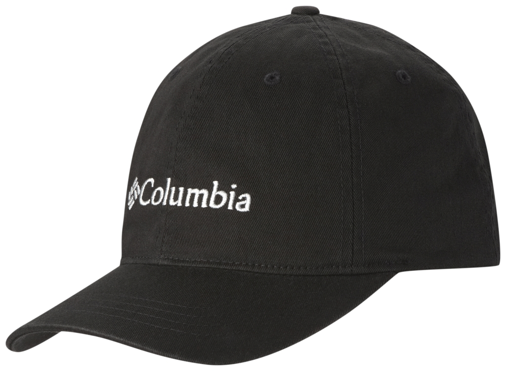 Columbia Columbia Roc Logo Ballcap Black, Columbia Grey-30