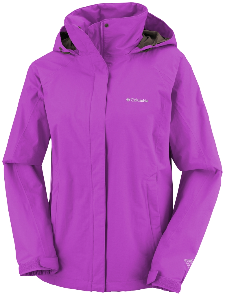 Columbia Women'S Venture On II Jacket Foxglove-30