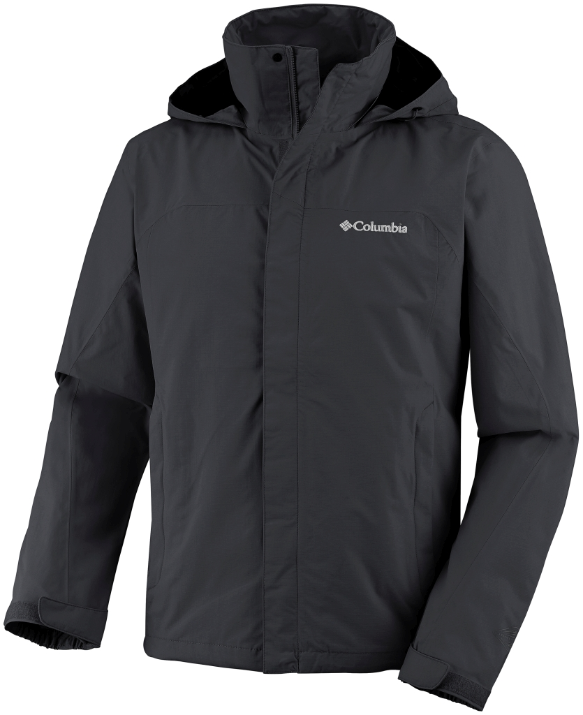 Columbia Men'S Mission Air II Jacket Black-30