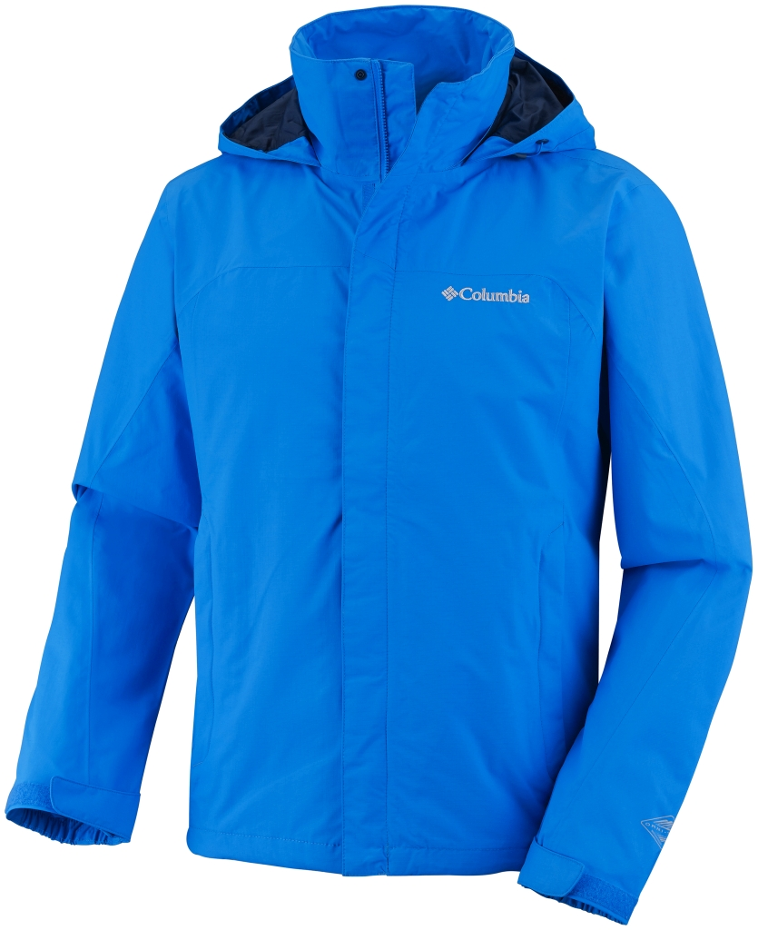 Columbia Men'S Mission Air II Jacket Hyper Blue-30