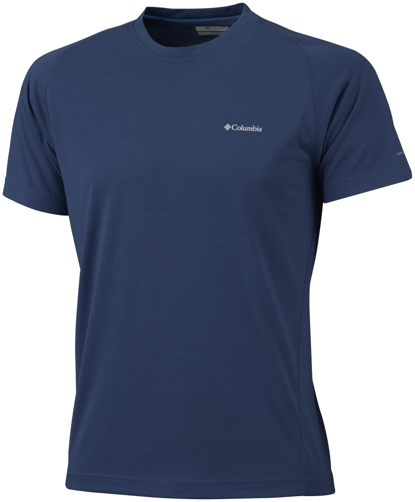 Columbia Mountain Tech III Short Sleeve Crew Collegiate Navy-30