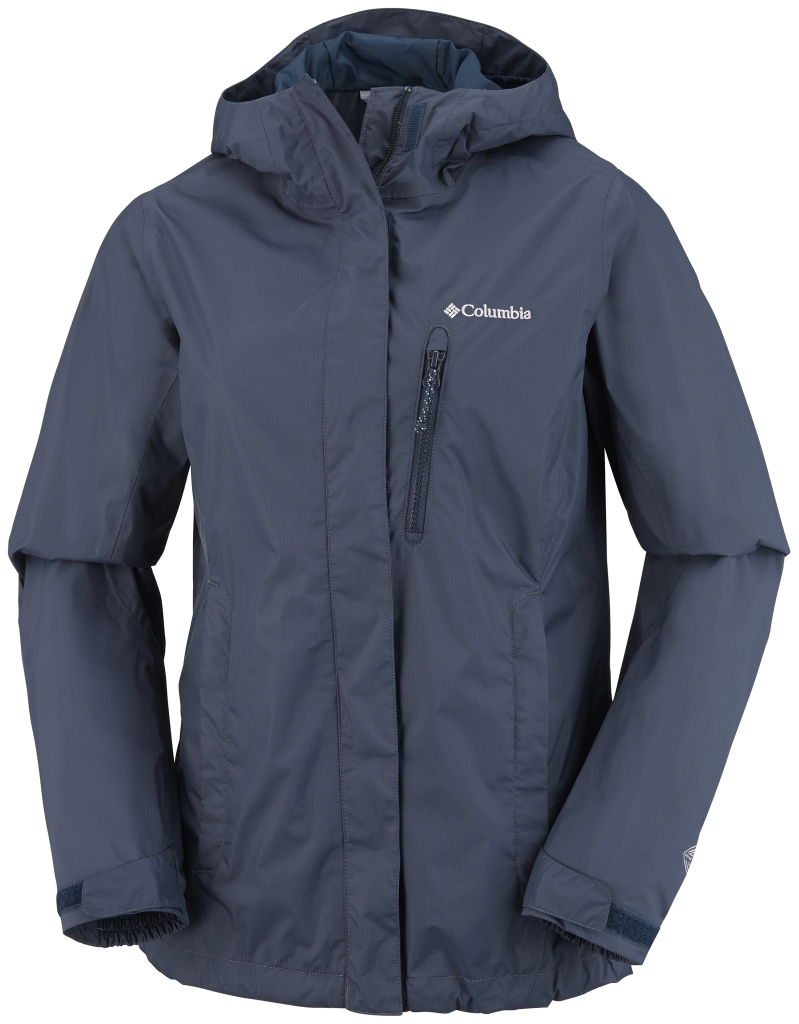 Columbia Women's Pouring Adventure Jacket India Ink-30