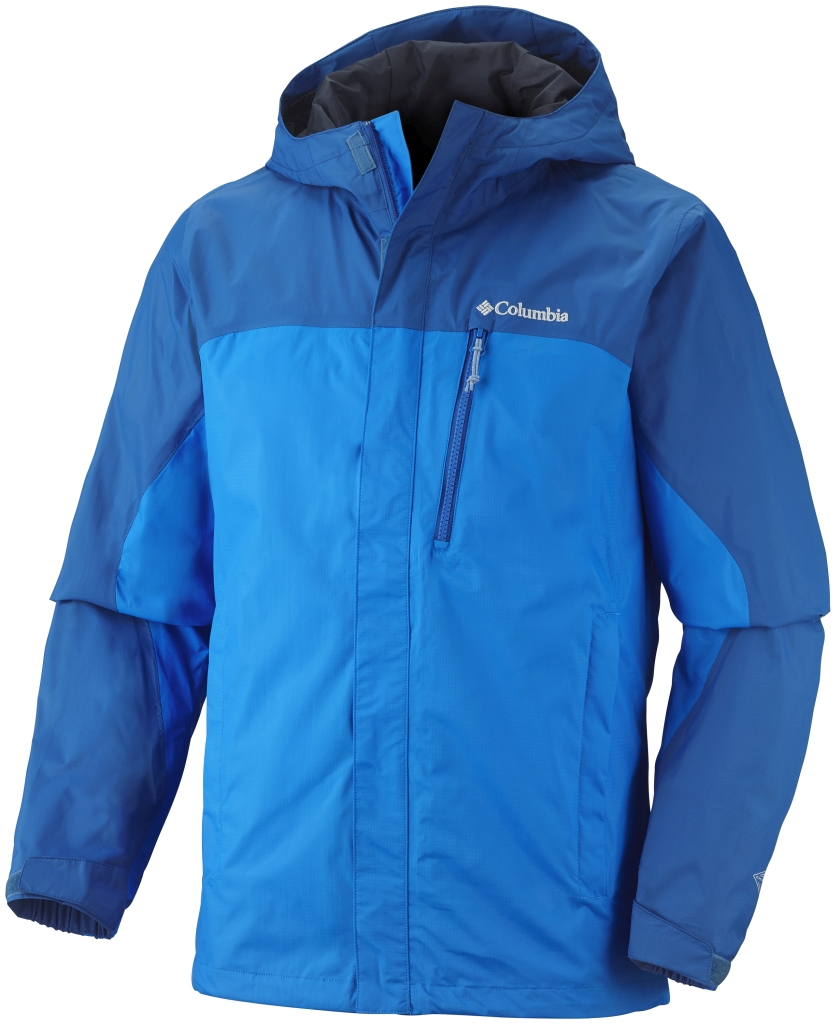 Columbia Men'S Pouring Adventure Jacket Hyper Blue Marine Blue-30