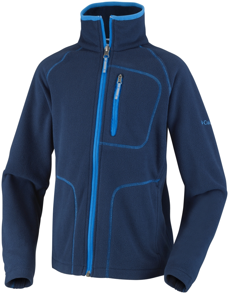 Columbia Fast Trek II Full Zip Collegiate Navy, Hyper Blue-30