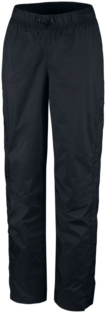 Columbia Women'S Pouring Adventure Rain Pant Black-30