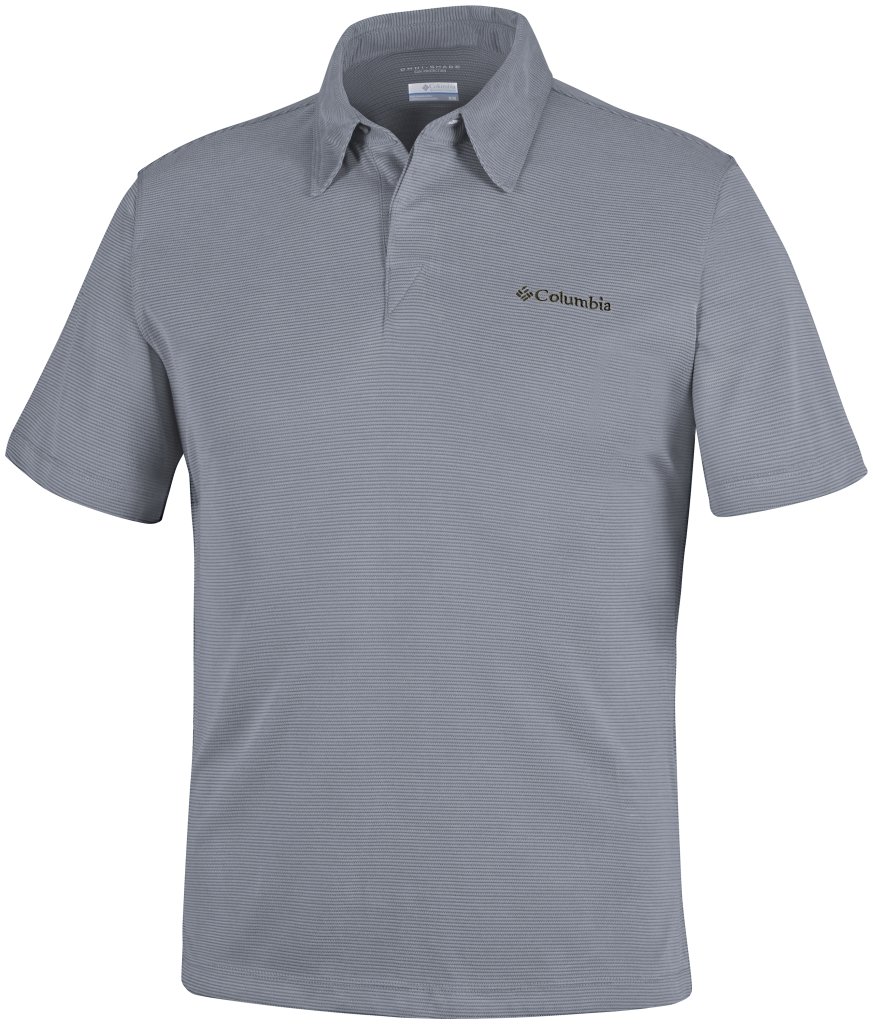 Columbia Sun Ridge Polo Grey Ash-30