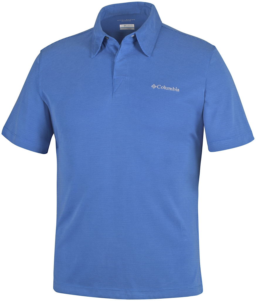Columbia Sun Ridge Polo Super Blue-30