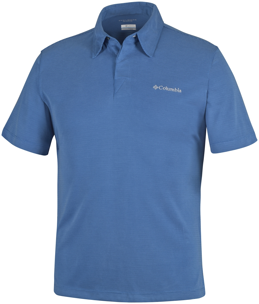 Columbia Sun Ridge Polo Marine Blue-30