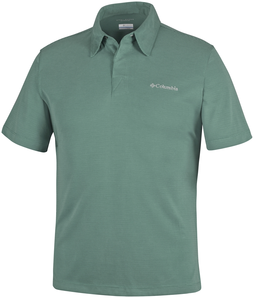Columbia Sun Ridge Polo Pine Green-30