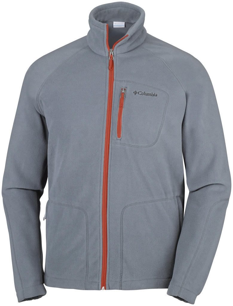 Columbia Fast Trek II Full Zip Fleece Grey Ash, Super Sonic-30