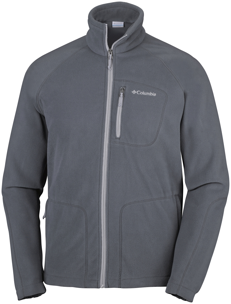 Columbia Fast Trek II Full Zip Fleece Graphite, Steam-30