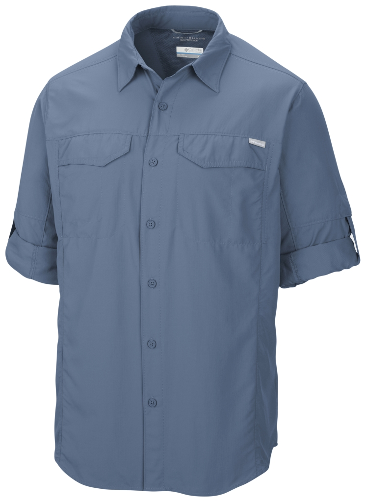Columbia Silver Ridge Long Sleeve Shirt Steel-30