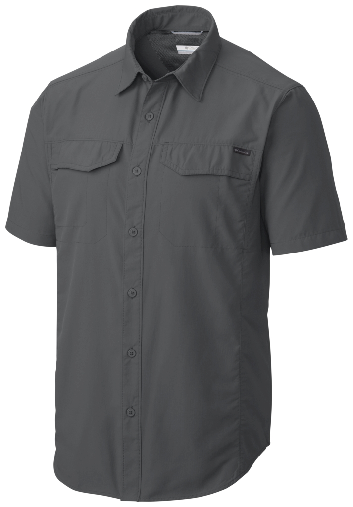 Columbia Silver Ridge Short Sleeve Shirt Grill-30