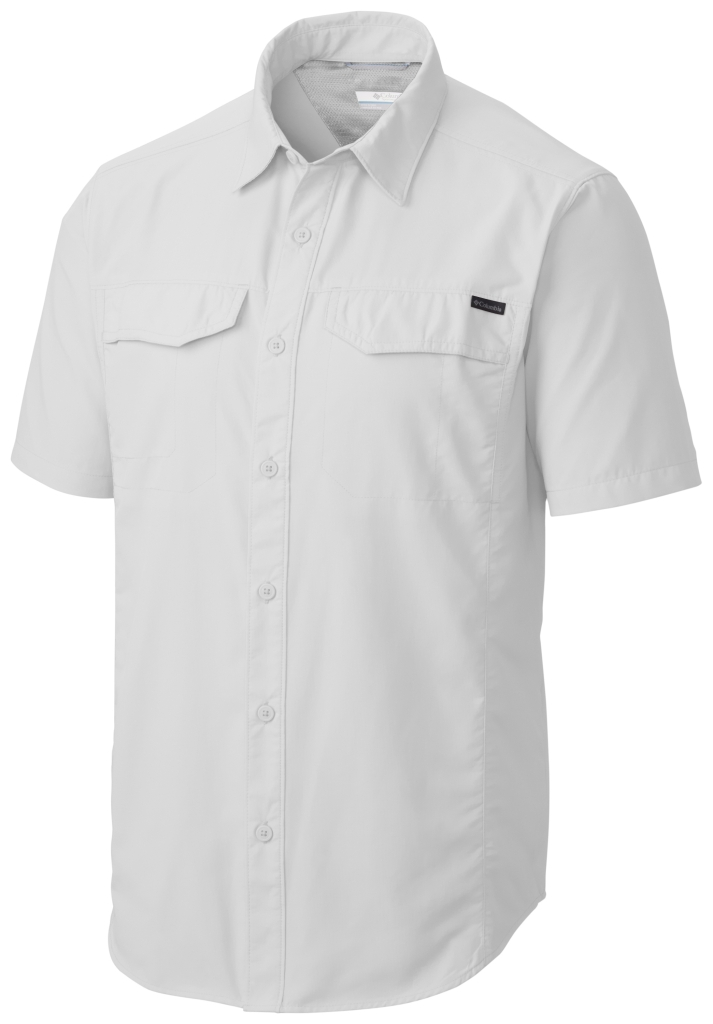 Columbia Silver Ridge Short Sleeve Shirt White-30
