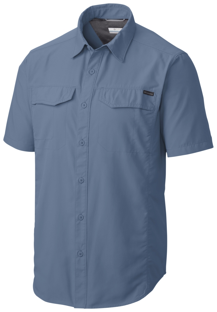 Columbia Silver Ridge Short Sleeve Shirt Steel-30