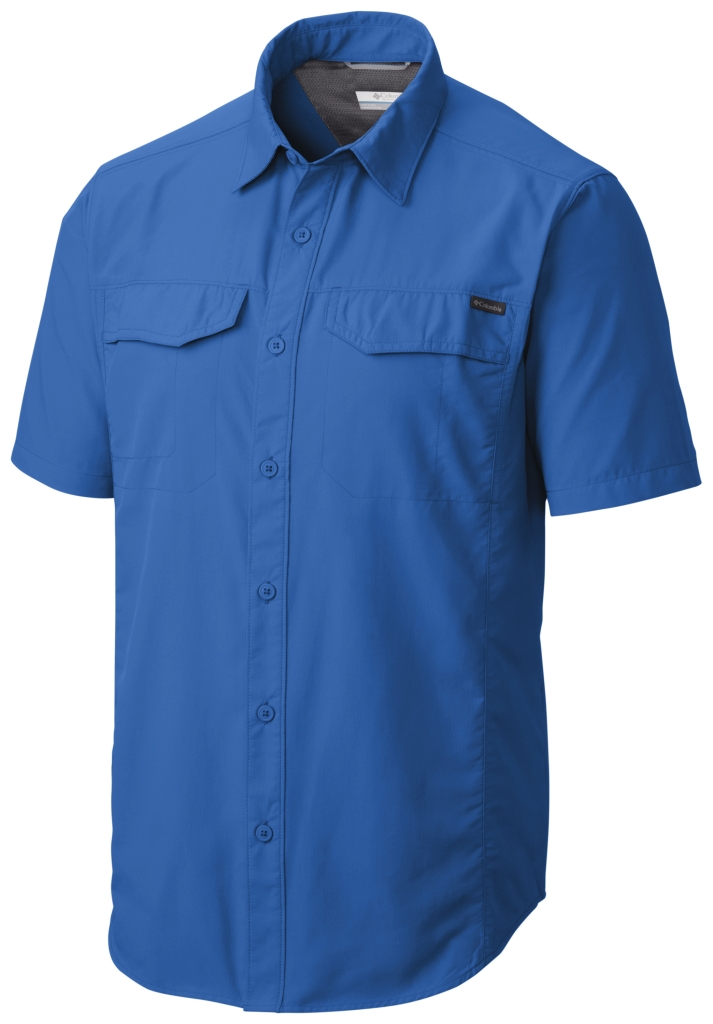 Columbia Silver Ridge Short Sleeve Shirt Super Blue-30