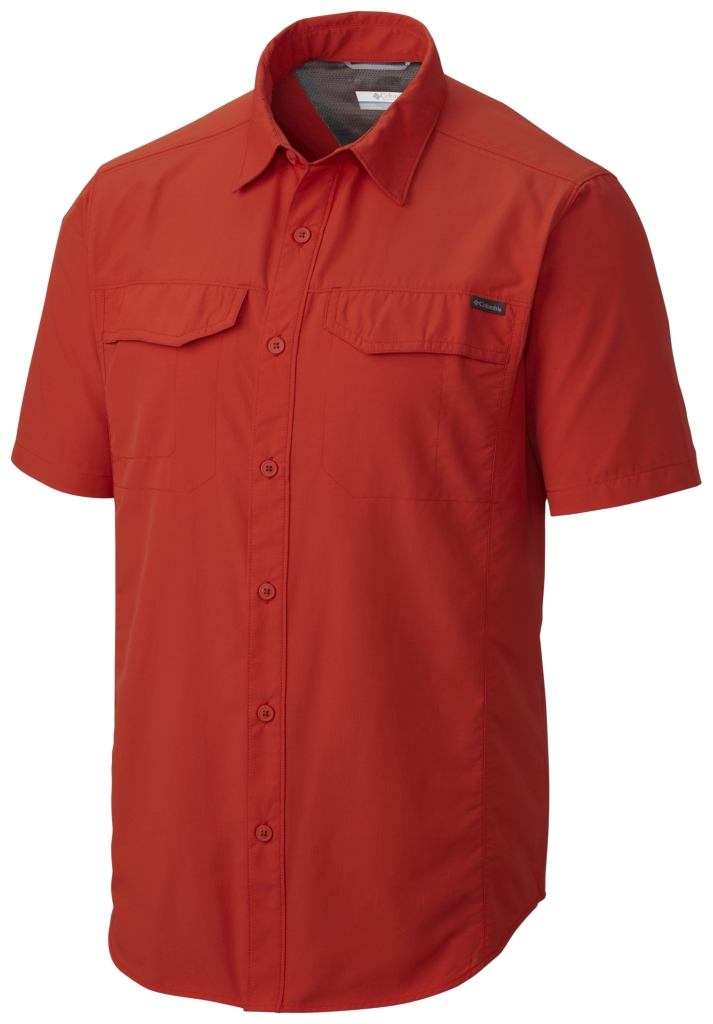Columbia Silver Ridge Short Sleeve Shirt Super Sonic-30