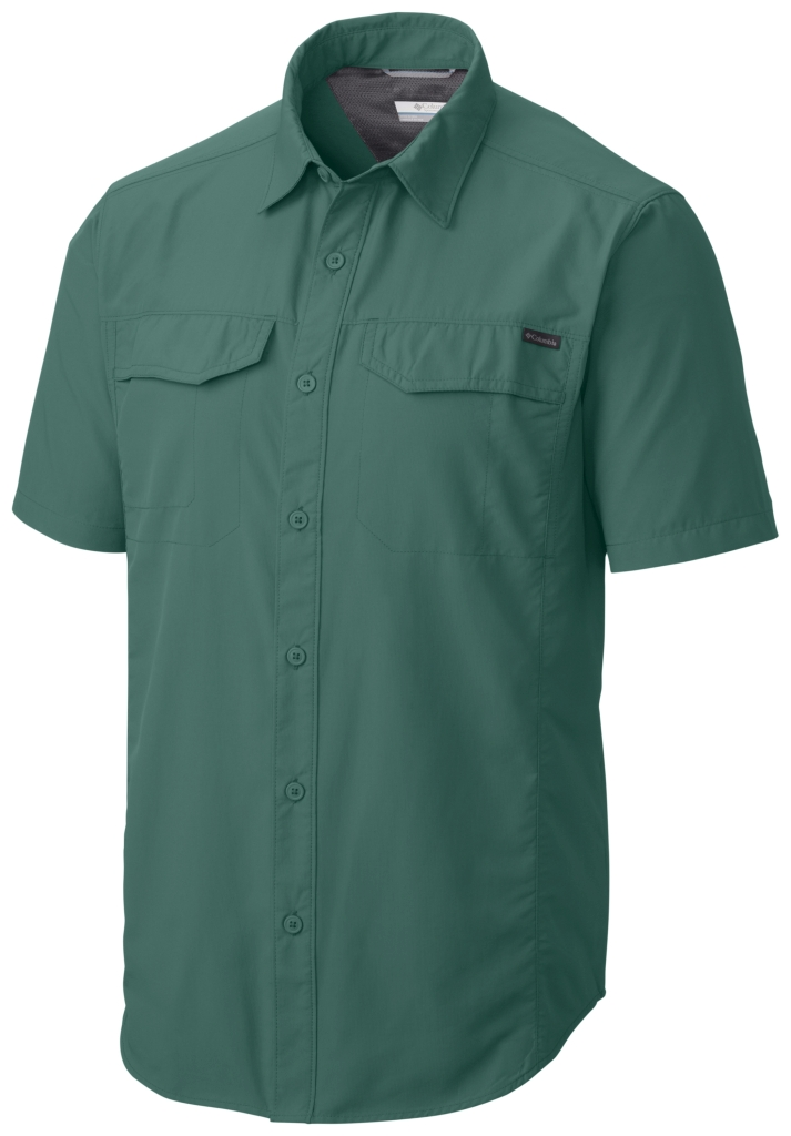 Columbia Silver Ridge Short Sleeve Shirt Pine Green-30