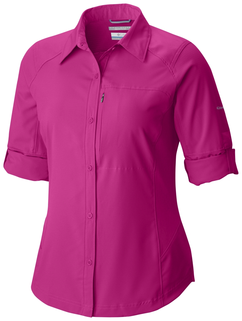 Columbia Silver Ridge Long Sleeve Shirt Haute Pink-30