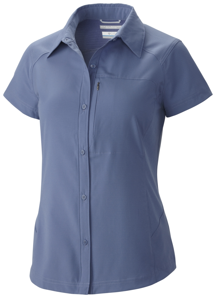 Columbia Silver Ridge Short Sleeve Shirt Bluebell-30