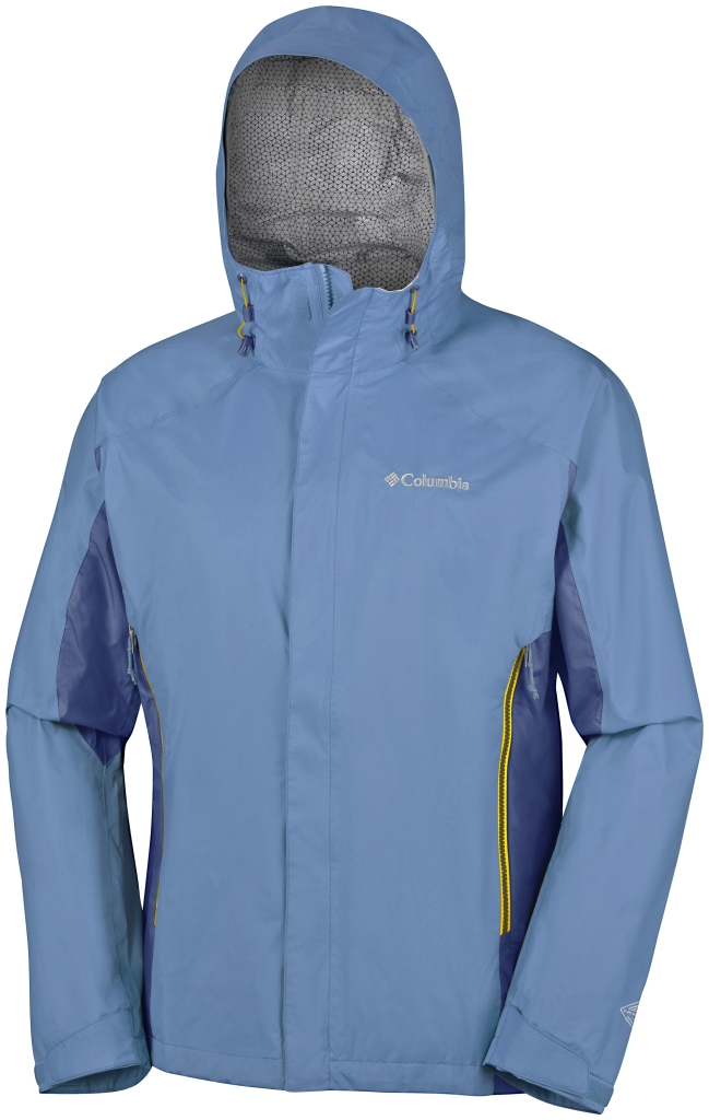 Columbia Rainstormer Jacket Steel, Night Tide-30