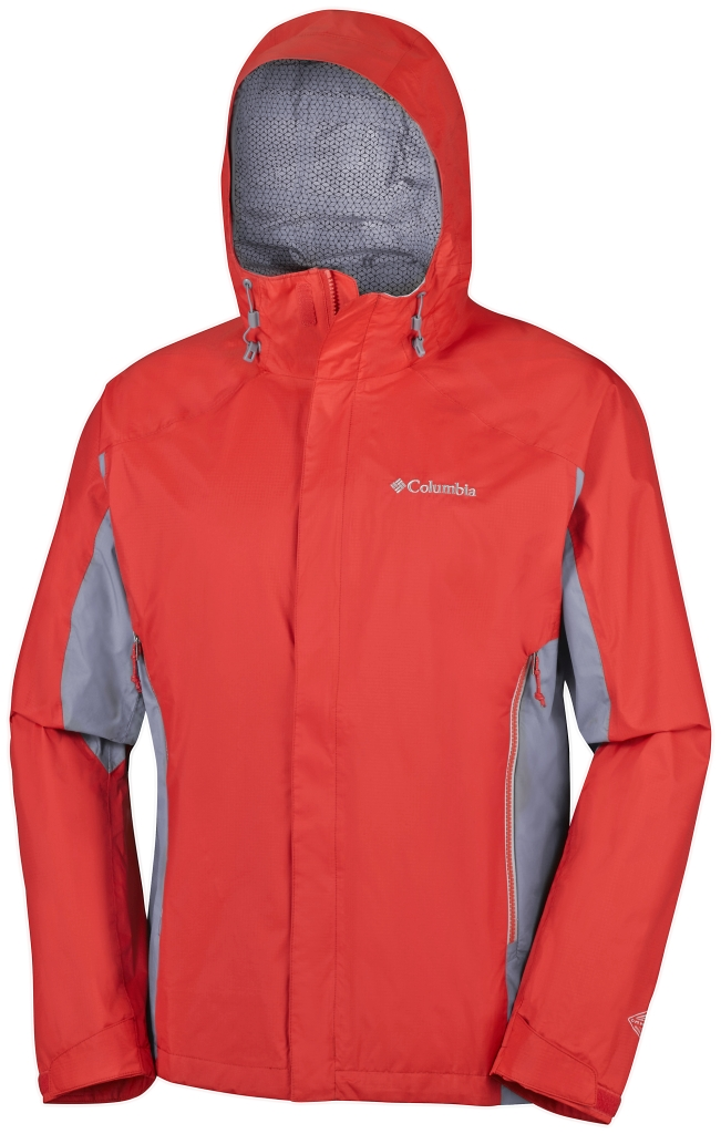 Columbia Rainstormer Jacket Super Sonic, Grey Ash-30