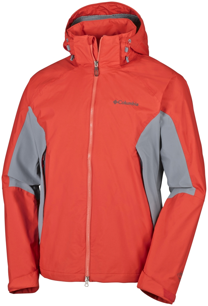 Columbia On The Mount Stretch Jacket Super Sonic, Grey Ash-30