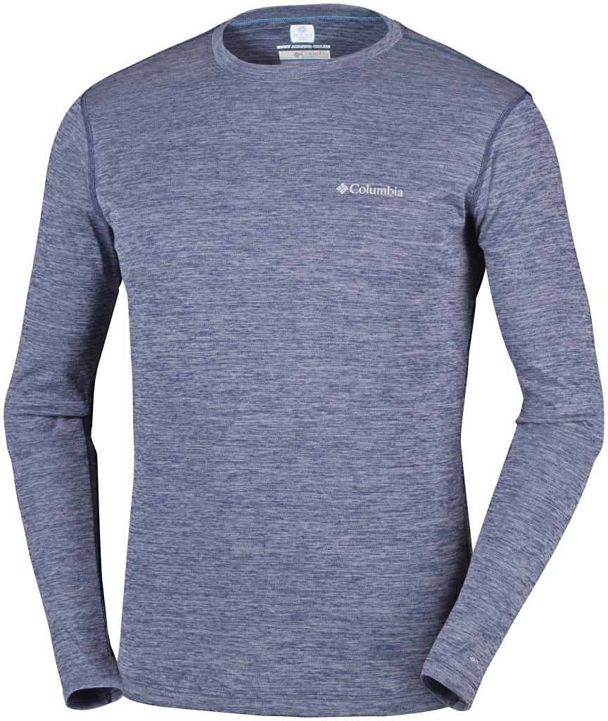 Columbia Zero Rules Long Sleeve Shirt Carbon Heather-30