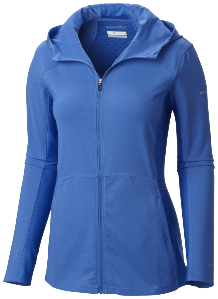 Columbia Trail Crush Sporty Hoodie Stormy Blue-30