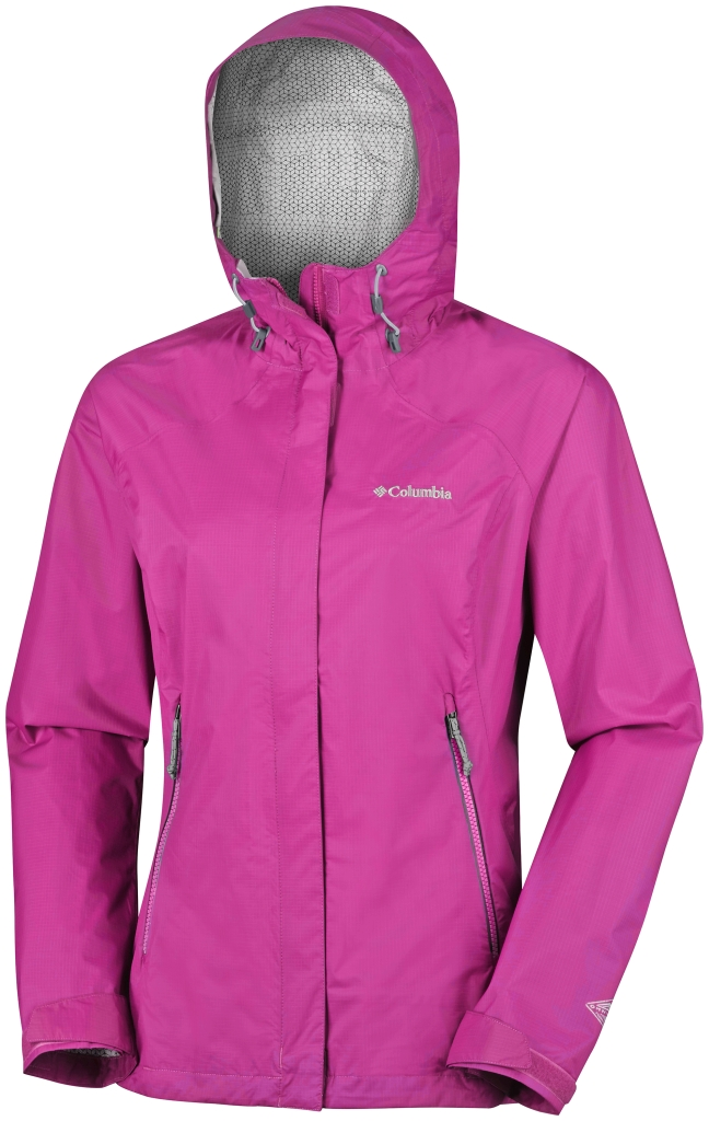 Columbia Rainstormer Jacket Haute Pink-30