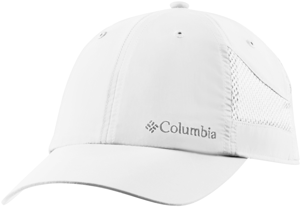 Columbia Tech Shade Hat White, White-30