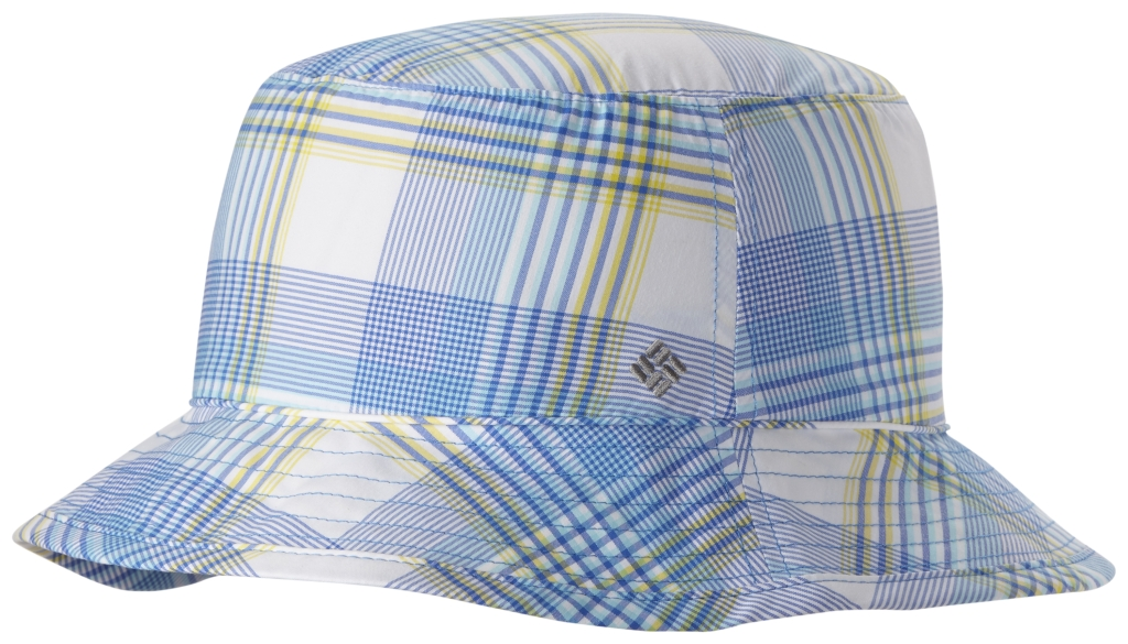 Columbia Bahama Women's Bucket Hat Stormy Blue Plaid-30