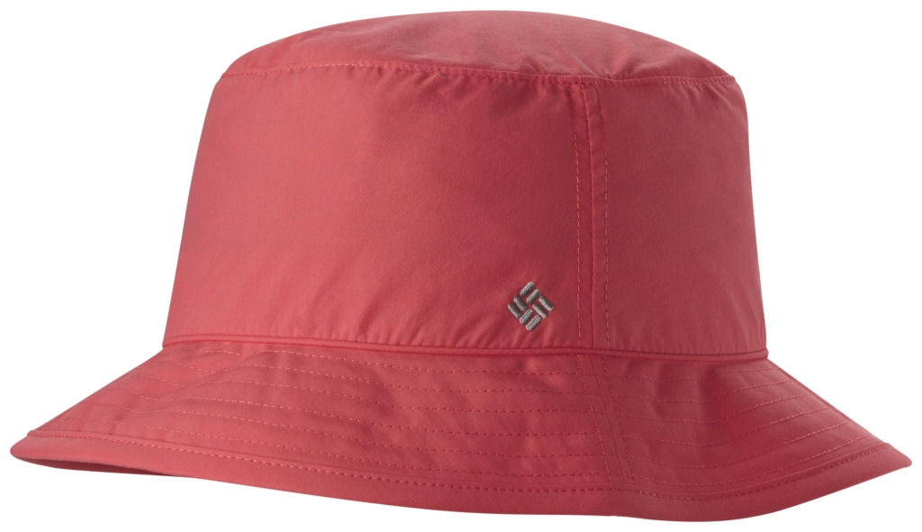 Columbia Bahama Women's Bucket Hat Bright Geranium-30