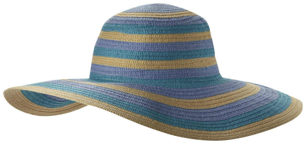 Columbia Sun Ridge II Women's Hat Miami Stripe-30