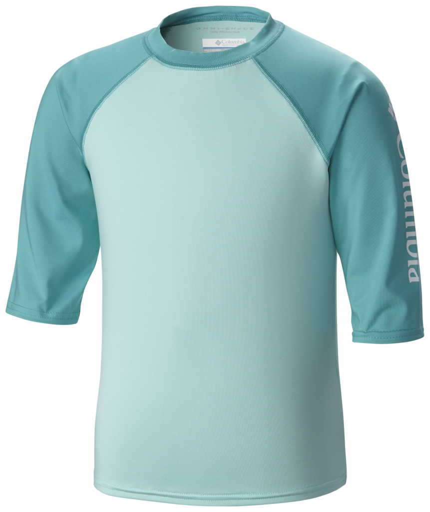 Columbia Mini Breaker II S/S Sunguard Top Ocean Water, Miami-30