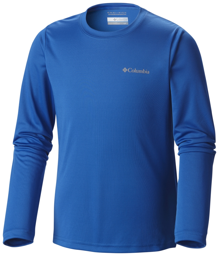 Columbia Terminal Tackle Long Sleeve Tee Super Blue-30