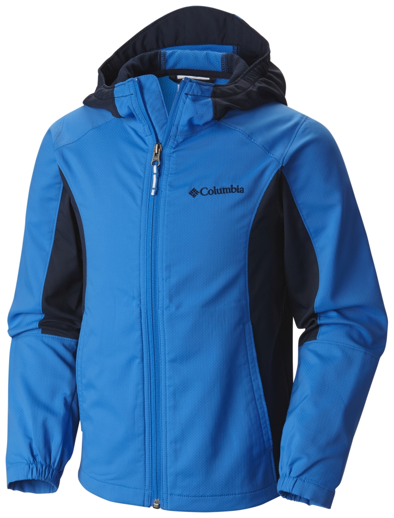 Columbia Splashflash II Hooded Softshell Jacket Hyper Blue-30