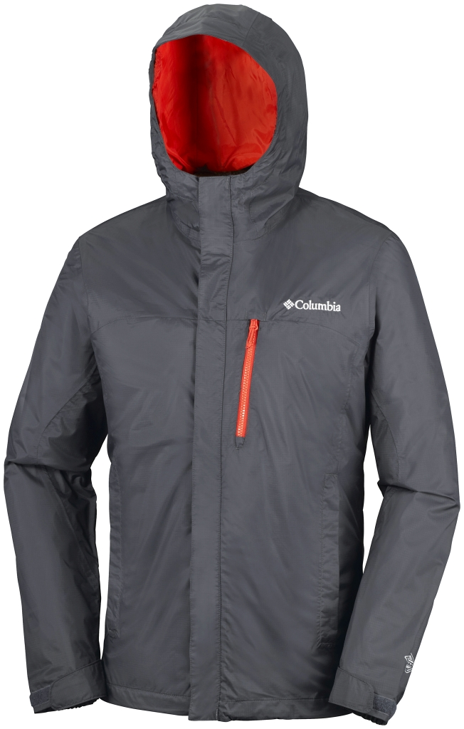 Columbia Pouring Adventure Jacket Shark-30