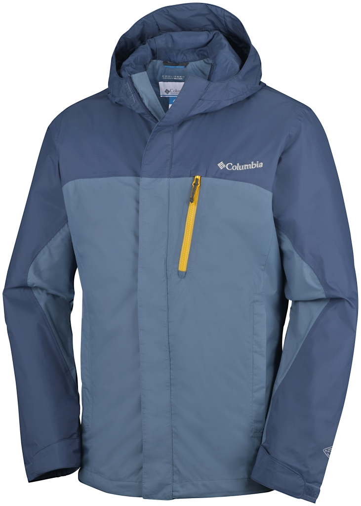 Columbia Pouring Adventure Jacket Stinger, Steel-30