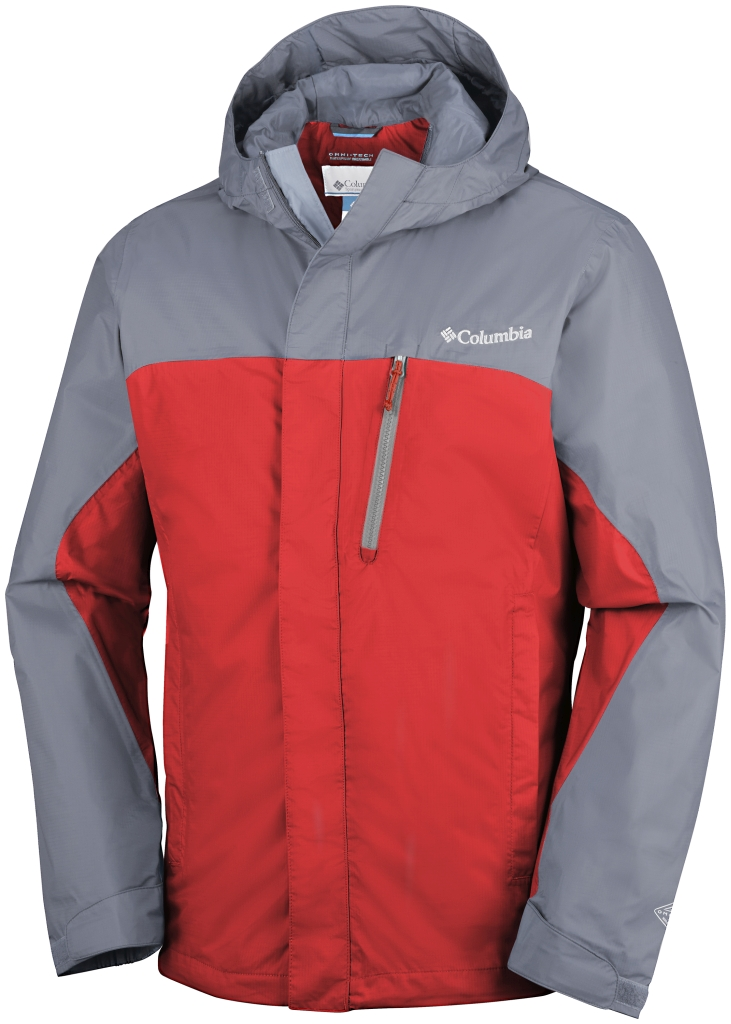 Columbia Pouring Adventure Jacket Super Sonic, Grey Ash-30