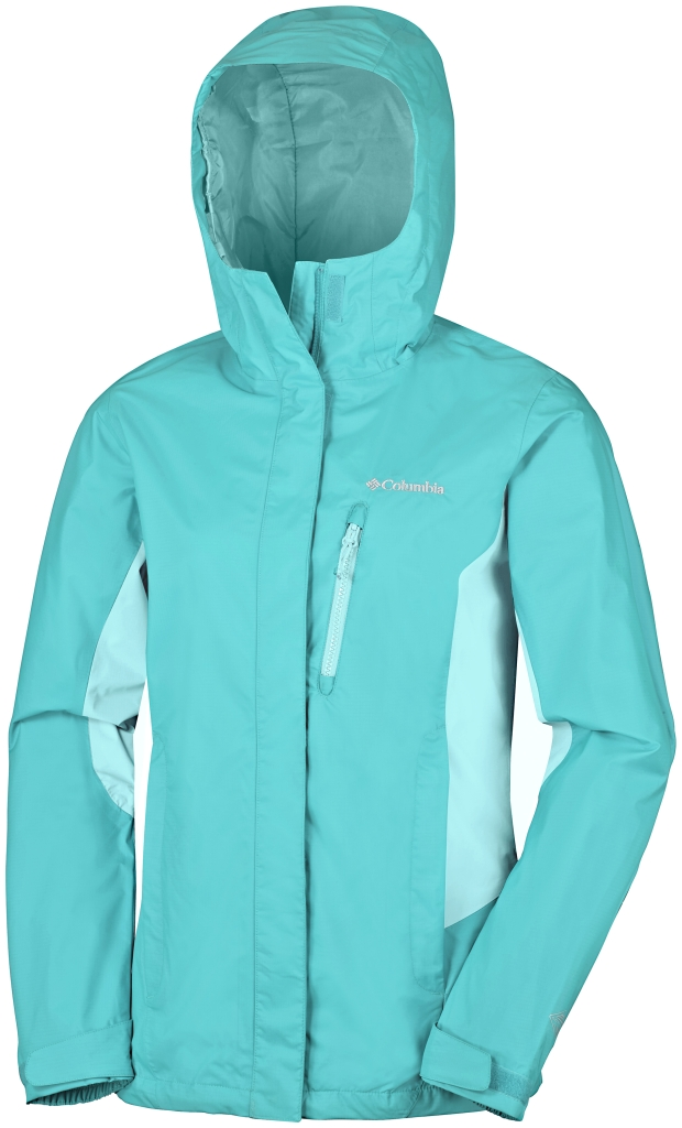 Columbia Pouring Adventure Jacket Miami, Ocean Water-30