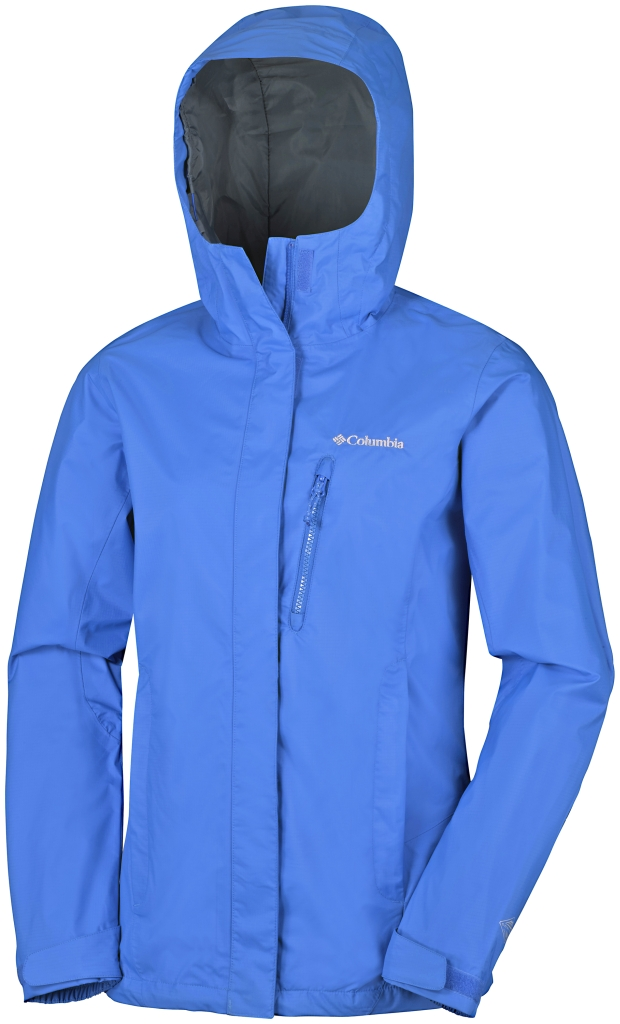 Columbia Pouring Adventure Jacket Stormy Blue-30