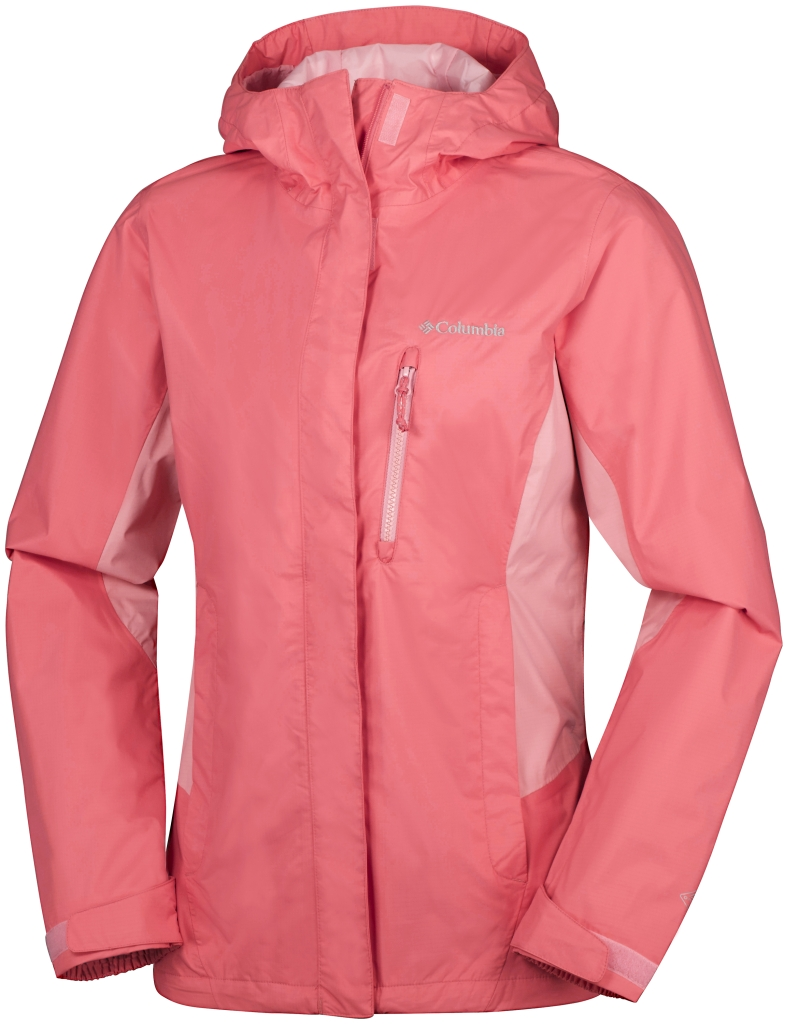 Columbia Pouring Adventure Jacket Coral Bloom, Rosewater-30