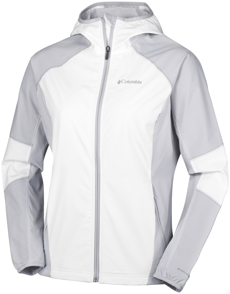 Columbia Sweet As Softshell Hoodie White, Cirrus Grey-30