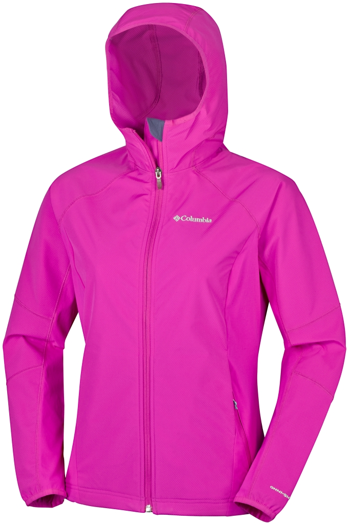 Columbia Sweet As Softshell Hoodie Haute Pink-30