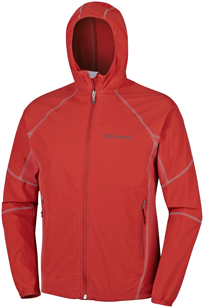 Columbia Sweet As II Softshell Hoodie Super Sonic-30