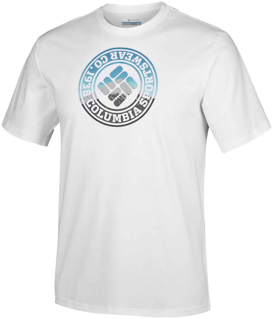 Columbia Csc Tried And True Short Sleeve Tee White-30