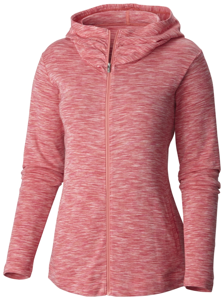 Columbia Outerspaced Full Zip Hoodie Coral Bloom-30