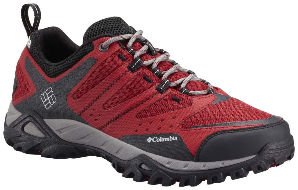 Columbia Peakfreak Xcrsn Xcel Outdry Red Dahlia, Cool Grey-30